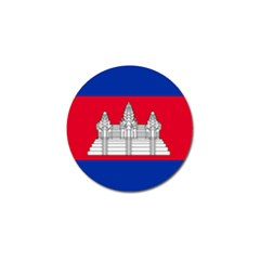 National Flag Of Cambodia Golf Ball Marker (10 Pack) by abbeyz71