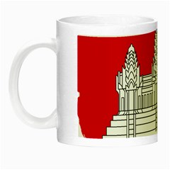 Flag Map Of Cambodia Night Luminous Mugs by abbeyz71