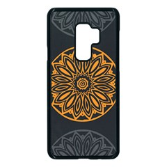 Background Design Pattern Tile Samsung Galaxy S9 Plus Seamless Case(black)