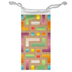 Abstract Background Colorful Jewelry Bag by HermanTelo