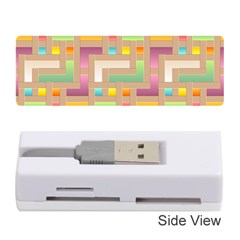 Abstract Background Colorful Memory Card Reader (stick) by HermanTelo