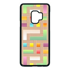 Abstract Background Colorful Samsung Galaxy S9 Seamless Case(black) by HermanTelo