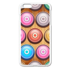 Background Colorful Abstract Brown Iphone 6 Plus/6s Plus Enamel White Case
