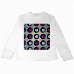 Background Colorful Abstract Kids Long Sleeve T Shirts by HermanTelo