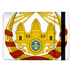 Coat Of Arms Of Khmer Republic, 1970-1975 Samsung Galaxy Tab Pro 12 2  Flip Case by abbeyz71