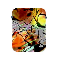 Abstract Transparent Drawing Apple Ipad 2/3/4 Protective Soft Cases by HermanTelo
