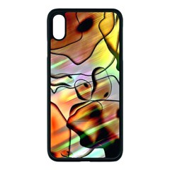 Abstract Transparent Drawing Iphone Xs Max Seamless Case (black)
