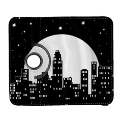 City Night Moon Star Samsung Galaxy S  Iii Flip 360 Case by HermanTelo