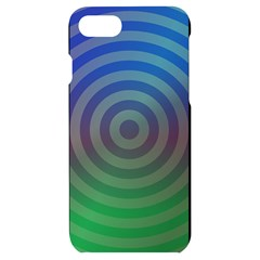 Blue Green Abstract Background Iphone 7/8 Black Uv Print Case