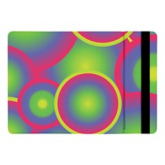 Background Colourful Circles Apple Ipad Pro 10 5   Flip Case