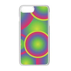 Background Colourful Circles Iphone 8 Plus Seamless Case (white)
