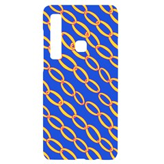 Blue Abstract Links Background Samsung Case Others by HermanTelo