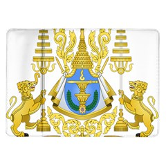 Coat Of Arms Of Cambodia Samsung Galaxy Tab 10 1  P7500 Flip Case by abbeyz71