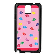 Cupcakes Food Dessert Celebration Samsung Galaxy Note 3 N9005 Case (black)
