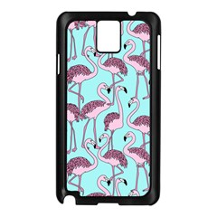 Flemish Rosa Birds Nature Fauna Flamenco Samsung Galaxy Note 3 N9005 Case (black)