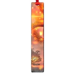 Eye Butterfly Evening Sky Large Book Marks by HermanTelo