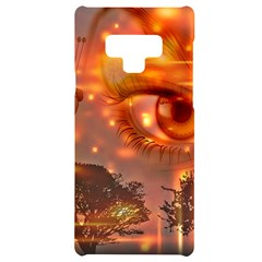 Eye Butterfly Evening Sky Samsung Note 9 Black Uv Print Case