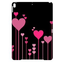 Heart Rosa Love Valentine Pink Apple Ipad Pro 10 5   Black Uv Print Case