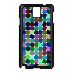 Geometric Background Colorful Samsung Galaxy Note 3 N9005 Case (black) by HermanTelo