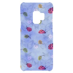 Ladybug Blue Nature Samsung S9 Black Uv Print Case