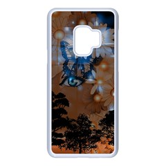 Landscape Woman Magic Evening Samsung Galaxy S9 Seamless Case(white)