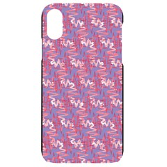 Pattern Abstract Squiggles Gliftex Iphone Xr Black Uv Print Case