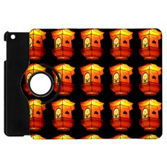 Paper Lantern Chinese Celebration Apple Ipad Mini Flip 360 Case