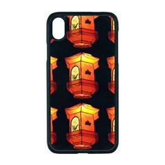 Paper Lantern Chinese Celebration Iphone Xr Seamless Case (black)