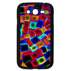Neon Glow Glowing Light Design Samsung Galaxy Grand Duos I9082 Case (black) by HermanTelo