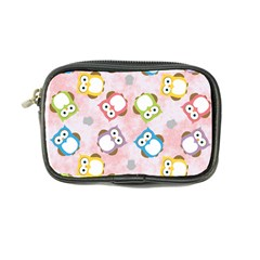Owl Bird Cute Pattern Background Coin Purse