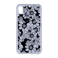 Mandala Calming Coloring Page Iphone Xr Seamless Case (white)