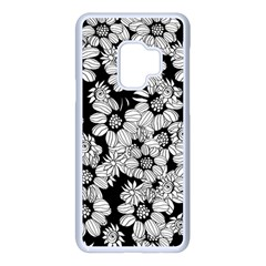 Mandala Calming Coloring Page Samsung Galaxy S9 Seamless Case(white)
