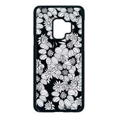 Mandala Calming Coloring Page Samsung Galaxy S9 Seamless Case(black)