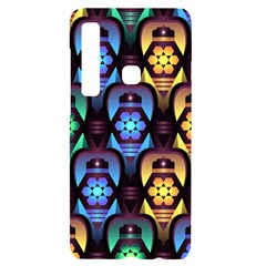 Pattern Background Bright Blue Samsung Case Others by HermanTelo