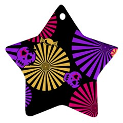 Seamless Halloween Day Dead Ornament (star) by HermanTelo