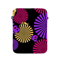 Seamless Halloween Day Dead Apple Ipad 2/3/4 Protective Soft Cases