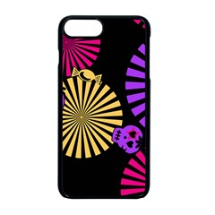 Seamless Halloween Day Dead Iphone 8 Plus Seamless Case (black)