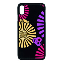 Seamless Halloween Day Dead Iphone Xs Max Seamless Case (black)