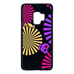 Seamless Halloween Day Dead Samsung Galaxy S9 Seamless Case(black)