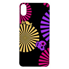Seamless Halloween Day Dead Iphone X/xs Soft Bumper Uv Case