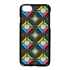 Pattern Pastels Background Iphone 7 Seamless Case (black)