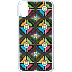 Pattern Pastels Background Iphone Xs Seamless Case (white)
