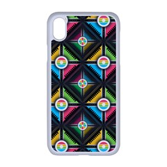 Pattern Pastels Background Iphone Xr Seamless Case (white)
