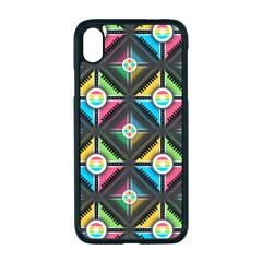 Pattern Pastels Background Iphone Xr Seamless Case (black)
