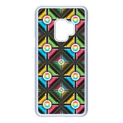Pattern Pastels Background Samsung Galaxy S9 Seamless Case(white)