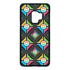 Pattern Pastels Background Samsung Galaxy S9 Seamless Case(black)