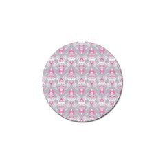 Seamless Pattern Background Golf Ball Marker (4 Pack)