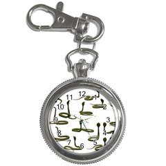 Snake Cobra Reptile Poisonous Key Chain Watches by HermanTelo