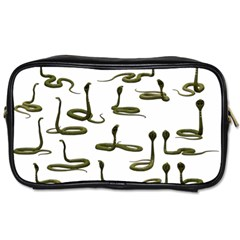 Snake Cobra Reptile Poisonous Toiletries Bag (two Sides) by HermanTelo