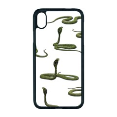 Snake Cobra Reptile Poisonous Iphone Xr Seamless Case (black)